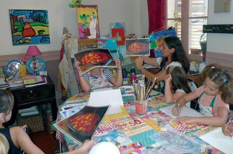 Atelier d'Annabelle - Les stages de vacances