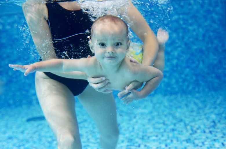 In Extremis - Bébés nageurs - Aix en Provence - Stage de vacances