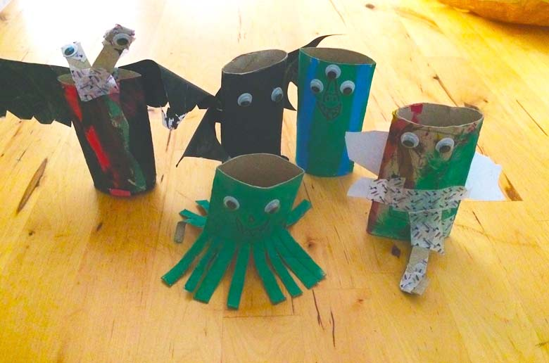 DIY : les petits monstres