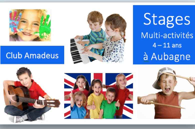 Amadeus Ecole Internationale Montessori d'Aubagne stages de vacances