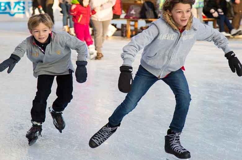 La patinoire du Palais Omnisport Marseille Grand Est