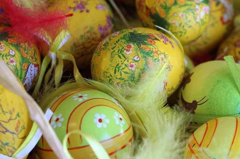 Chasse aux oeufs de Pâques au château des Baux de Provence