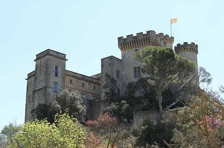 La chasse aux oeufs au château de la Barben