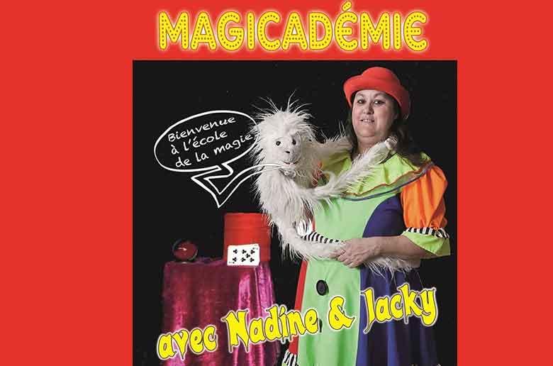 Magicadémie au théâtre l'Art Dû