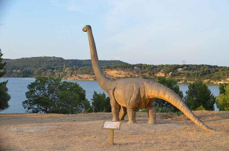 Une promenade au milieu des dinosaures