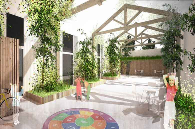 L'école Montessori 21 de Castellane
