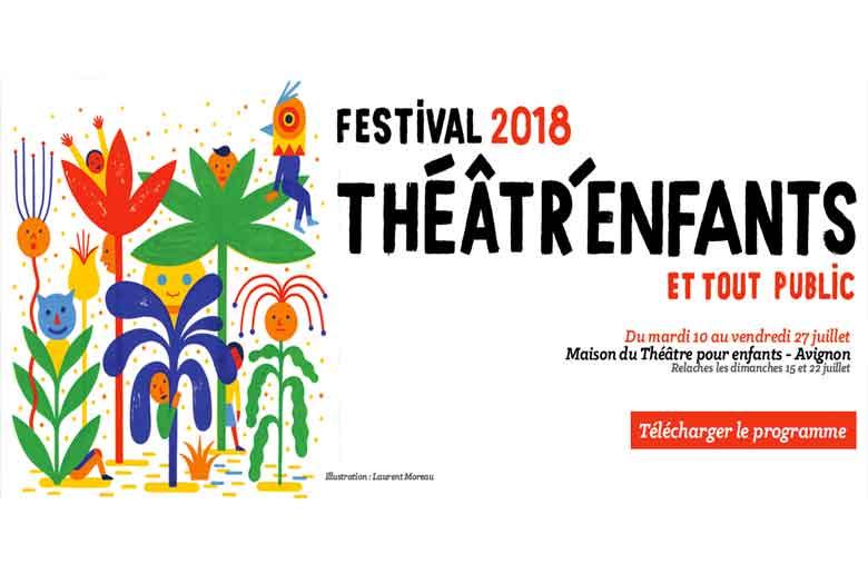 Le festival d'Avignon pour les enfants