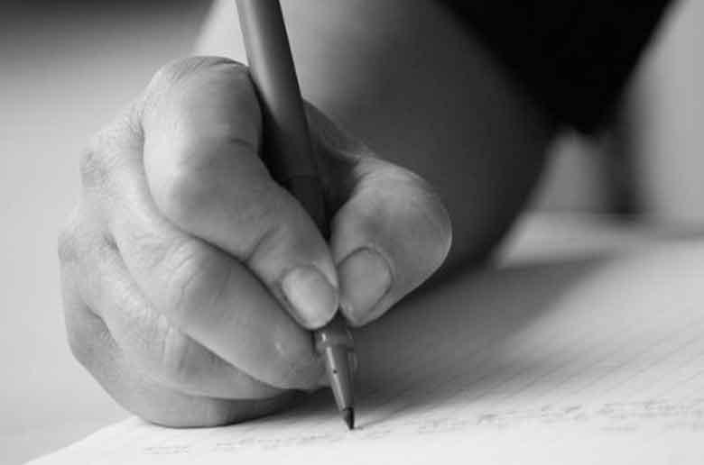 Un atelier d'écriture pour enfant