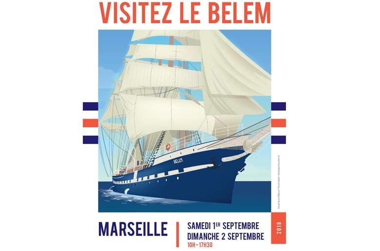 Le Belem à Marseille !!!