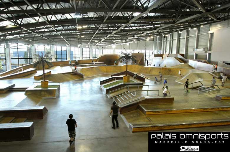 Palais Omnisports Marseille Grand-Est - Les stages de vacances