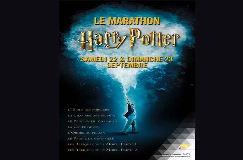 La marathon Harry Potter