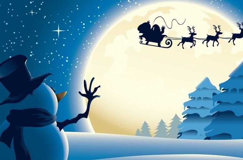 Le bonhomme de Noël