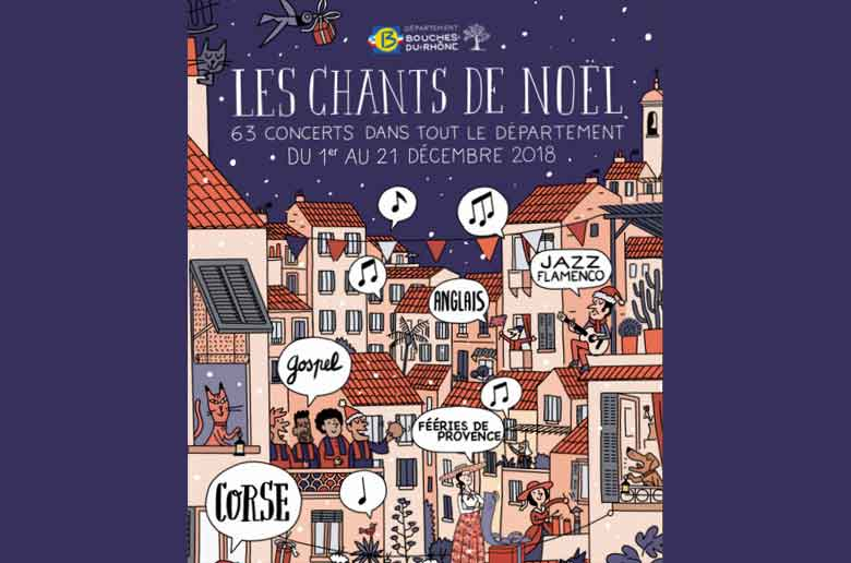 Grand concert gratuit de chant de Noël au Grand théâtre de Provence