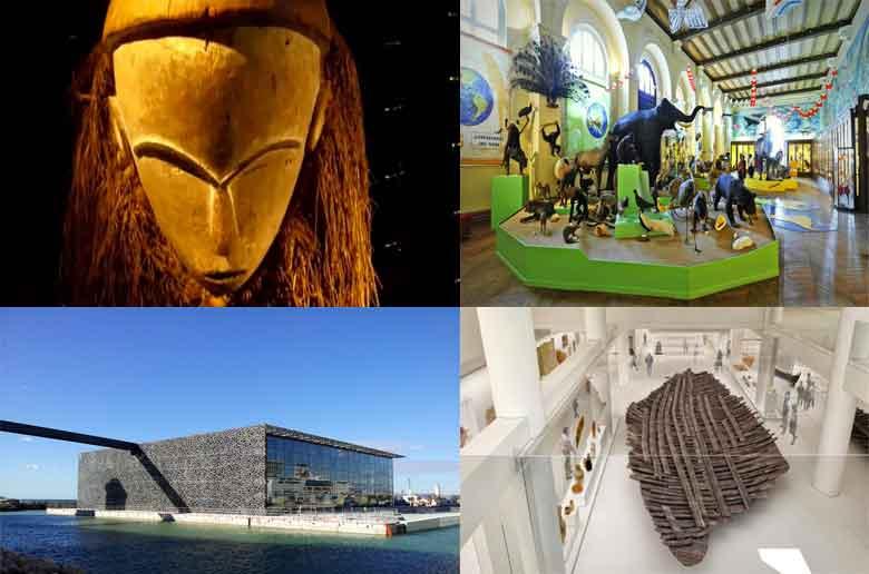 Ateliers dans les musées de Marseille pendant les vacances