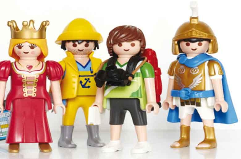 Exposition - vente de jouets playmobil