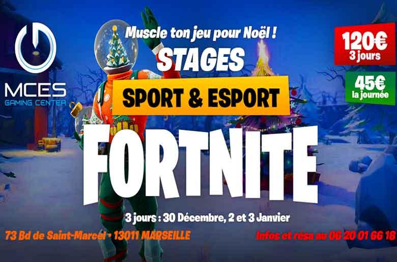 Stage de sport et esport chez MCES