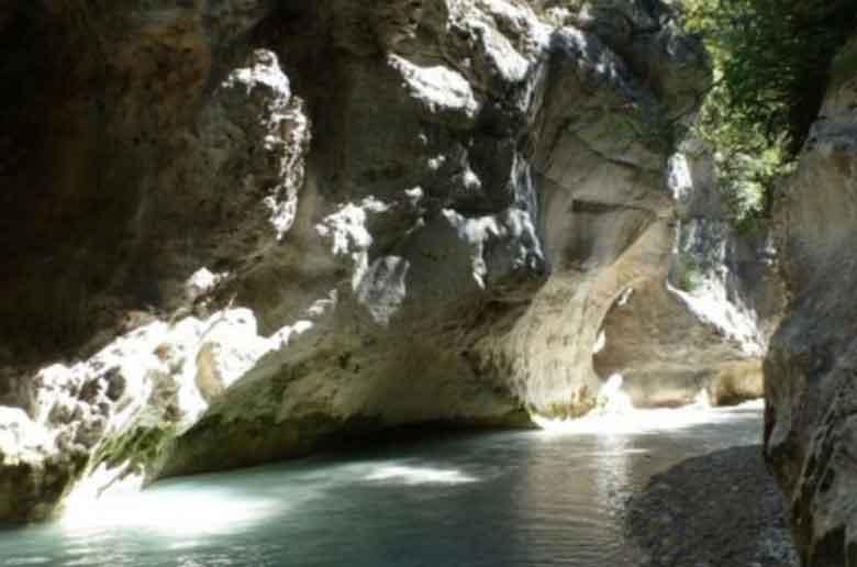 Balade dans les gorges du Toulourenc