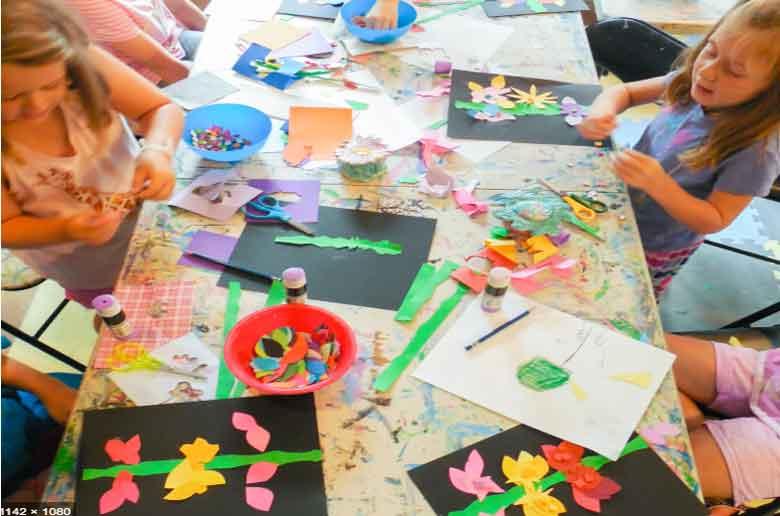 Les ateliers créatifs des vacances de la Toussaint