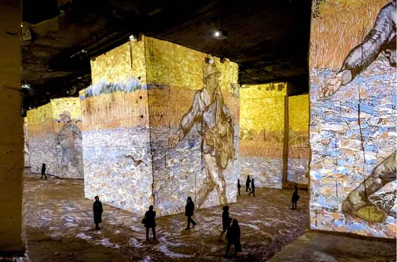 Van Gogh et les carrières de lumières