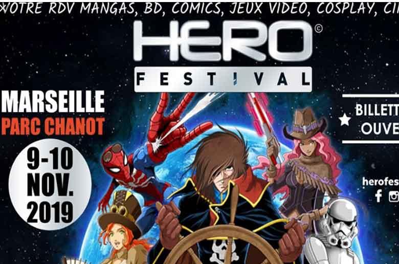 Le salon des super-héros à Marseille