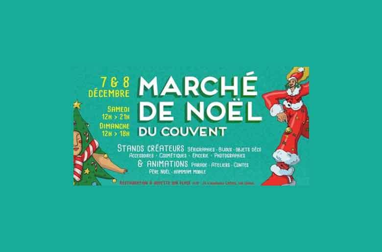 Marché de Noël au couvent Levat
