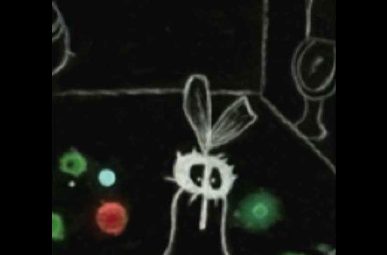 La mouche, les tâches
