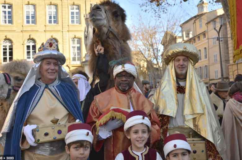 La marche des rois à Aix-en-Provence