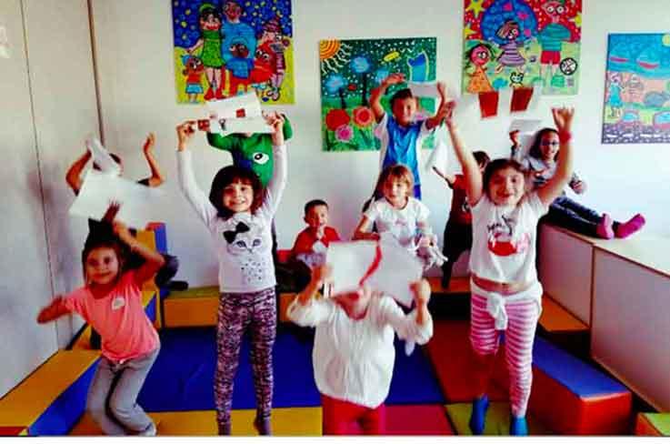 Les ateliers parents-enfants de la bulle des émotions autour du bonheur